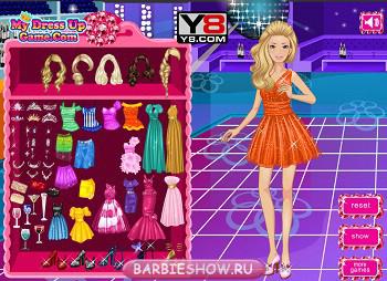Игры Барби Одевалки
