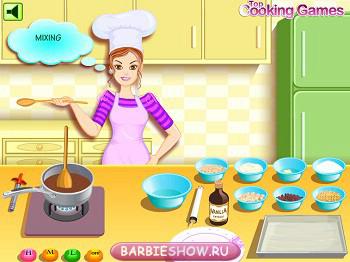 игры для девочек готовим десерты